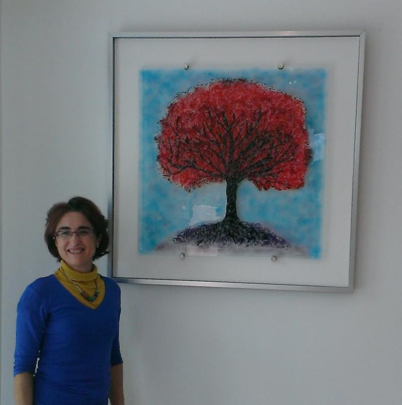 Eva Edery_tree of life wall glass art commission_2013