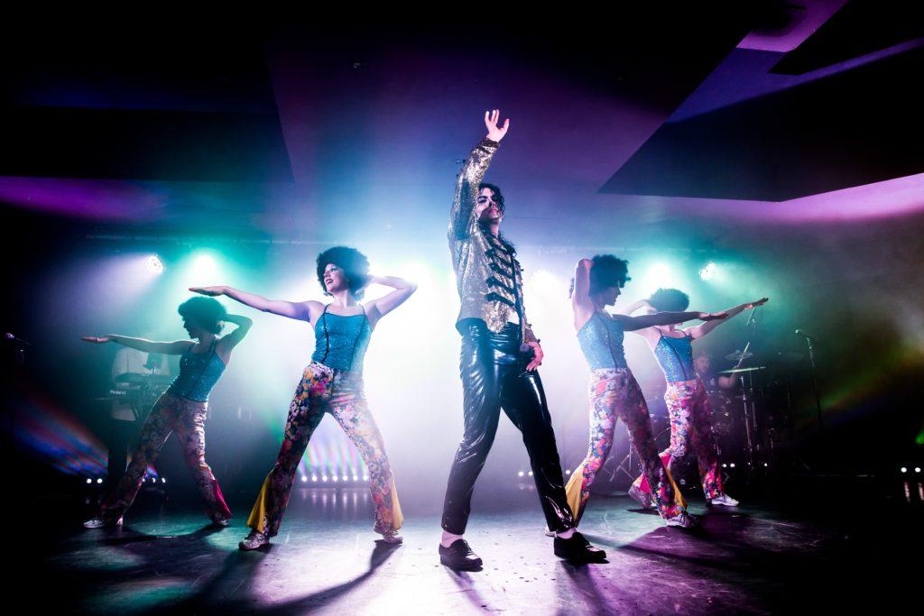 Jackson live in concert